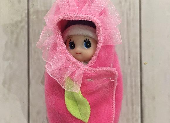 Flower wrap for baby or toddler elf