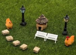 Fairy Garden Miniature Starter Set