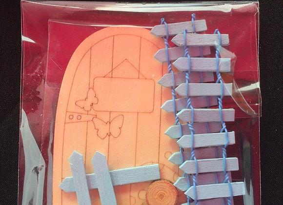 Fairy Garden Paint your own Fairy Door Kit