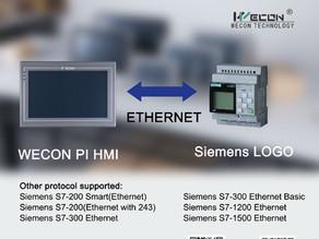HMI Support Siemens LOGO! Protocol