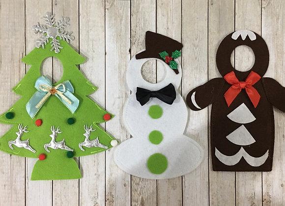 Set of 3 elf costumes