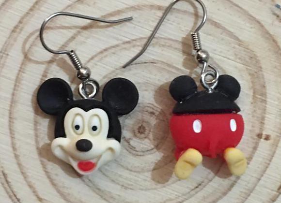 Micky mouse dangle earrings