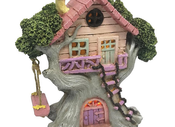 Fairy Tree House with Swing