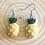 Thumbnail: Handmade pineapple earrings