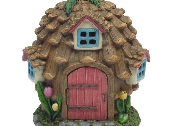 Fairy Garden Pinecone House