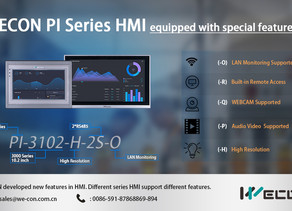 Special Features in HMI PI Series