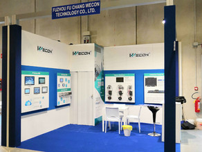 Wecon successfully attended SPS IPC Drives Italia 2019
