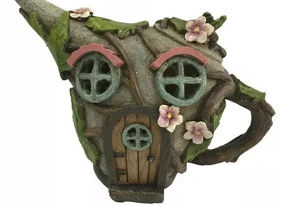Fairy garden teapot house