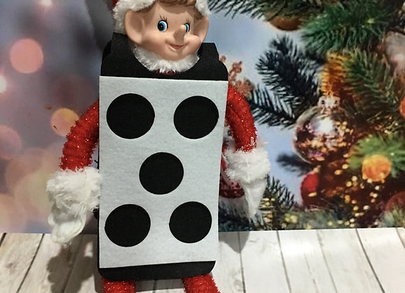 Elf sized dice costume