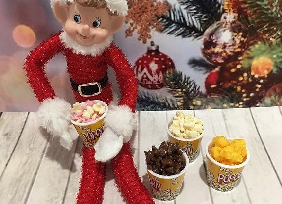 Elf size popcorn assorted