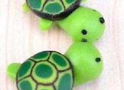 Fairy Garden set of 2 Turtles