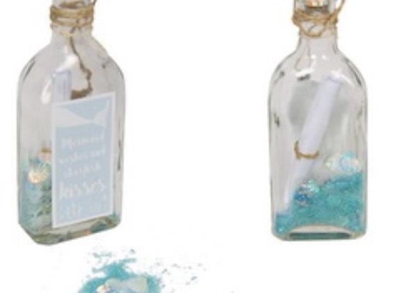 Mermaid wish jar keepsake