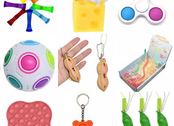9 piece fidget sensory pack