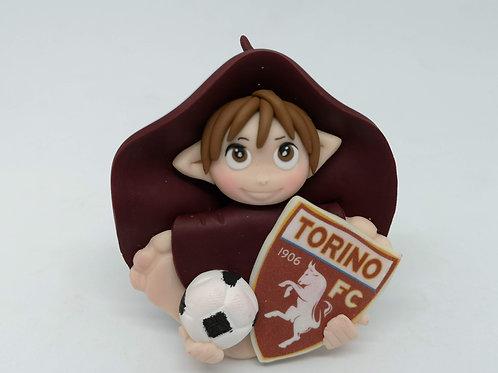 Folletto Calcio Torino portafortuna personalizzabile