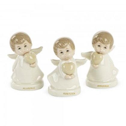 Bomboniera angelo in porcellana