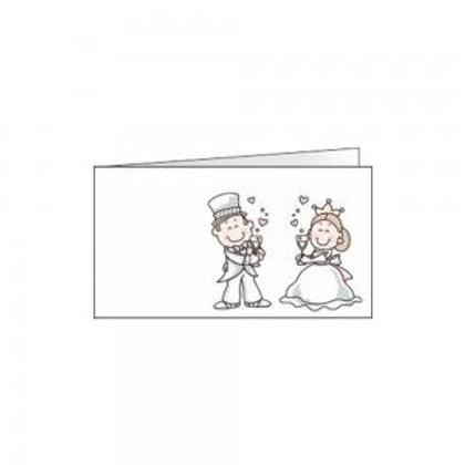 Bigliettino matrimonio sposini spiritosi