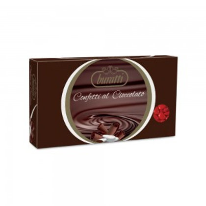 Cioccolato fondente cuore Buratti Rosso