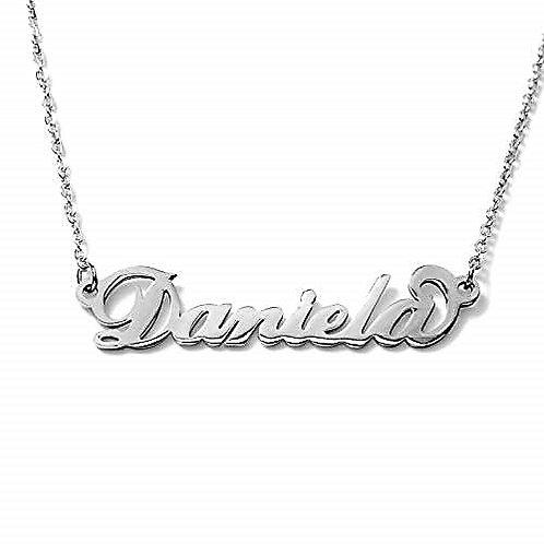 Collana con nome Daniela acciaio inossidabile Possibilità di 180 nomi
