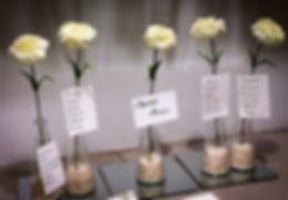 Tableau de mariage -4- Gocce di luna Can