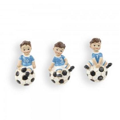bimbo calciatore con magnete