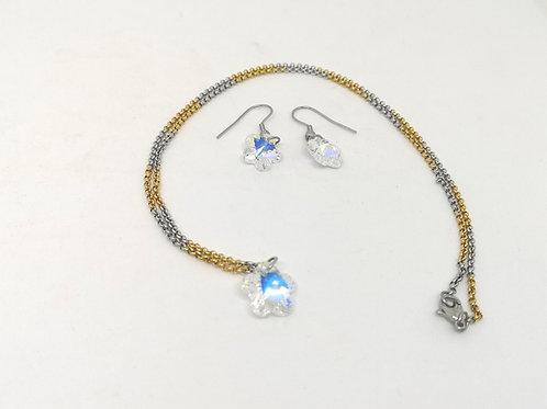 Fiore swarovski crystal AB