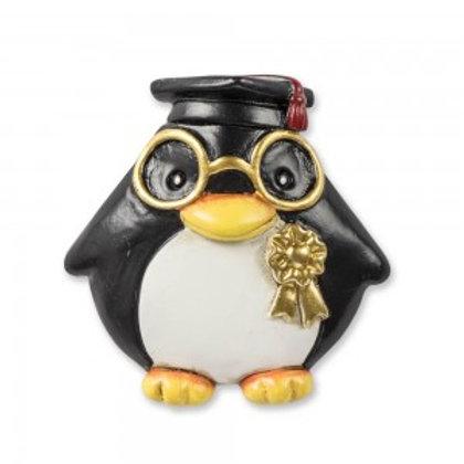 Magnete pinguino laureato