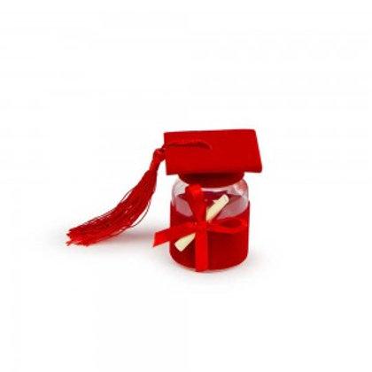 Barattolino cappello rosso