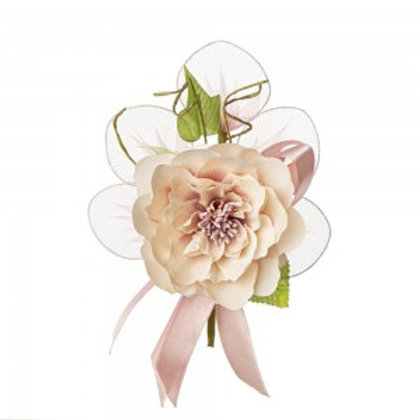 Ortensia grande rosa cipria
