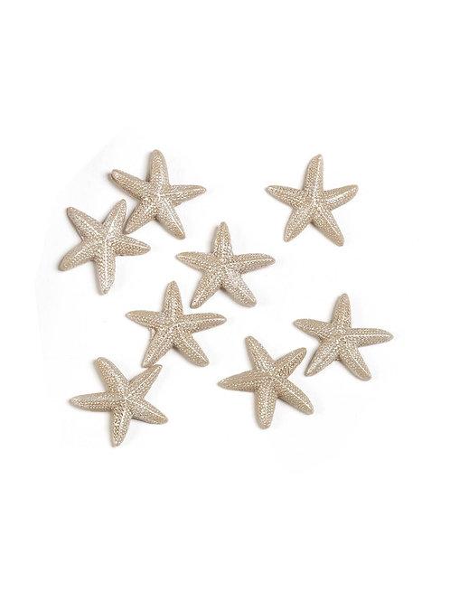 Applicazioni stelle marine beige in resina