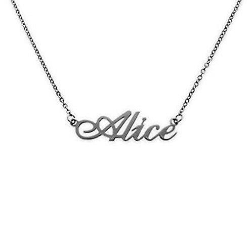 Collana con nome Alice in acciaio inossidabile Possibilità di altri nomi