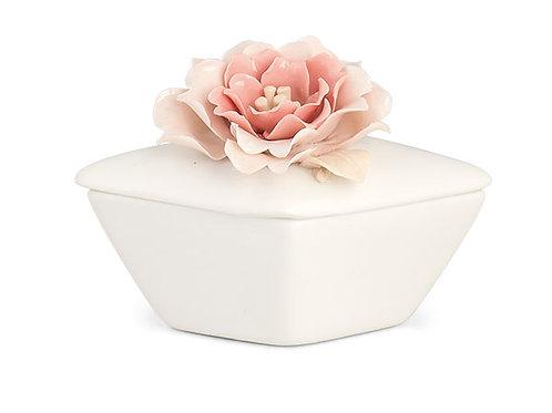 Scatola fiore rosa
