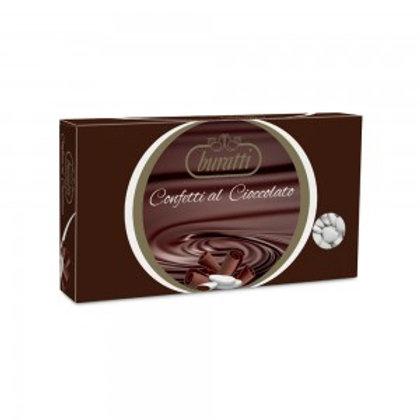 Cioccolato fondente cuore Buratti Bianco