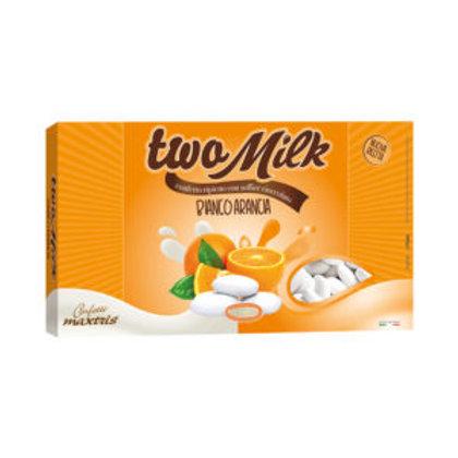 Two Milk bianco arancia