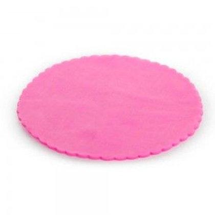 Velo di Fata tondo rosa