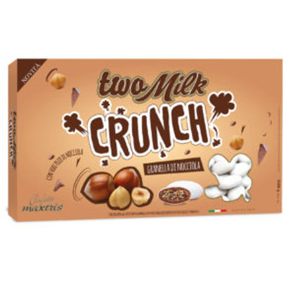 Maxtris two milk crunch granella di nocciola