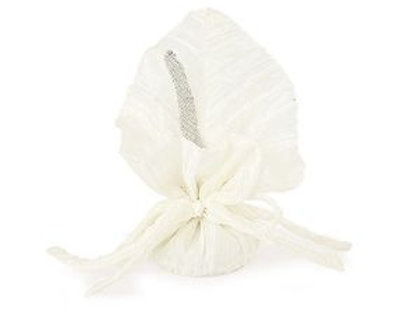 Sacchetto bianco con calla