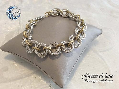 Bracciale mobius argento