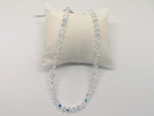Parure cristalli swarovski crystal AB