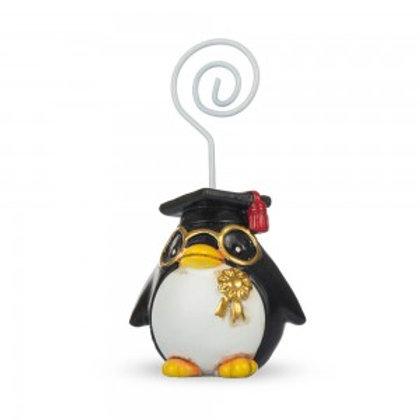 Pinguino laureato con memoclip