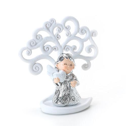Albero bianco angioletto silver