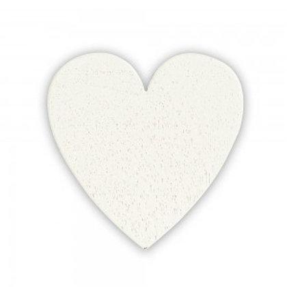 Applicazione bomboniera cuore in legno