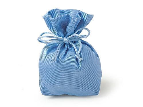 Sacchetto raso azzurro