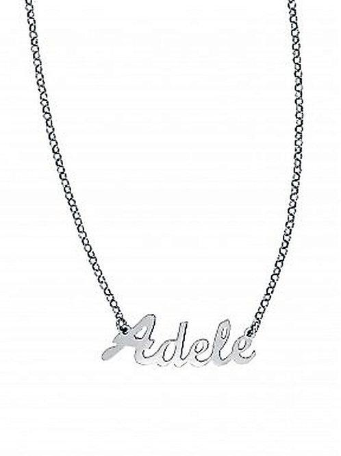 Collana con nome Adele acciaio inossidabile Possibilità di altri nomi