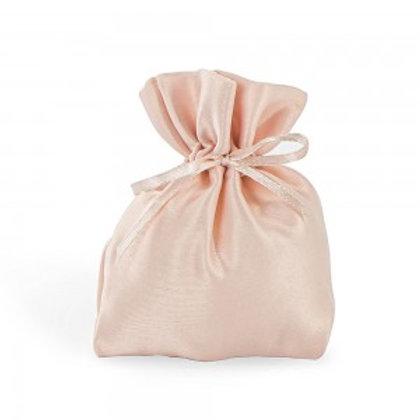 Sacchetto in raso rosa