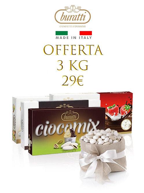 Promo Confettata cioccolato 3 kg