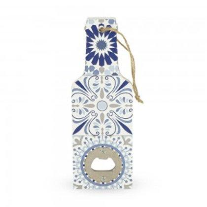 Apribottiglia decorato Blu