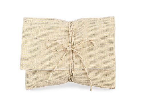 bustina cotone color sabbia
