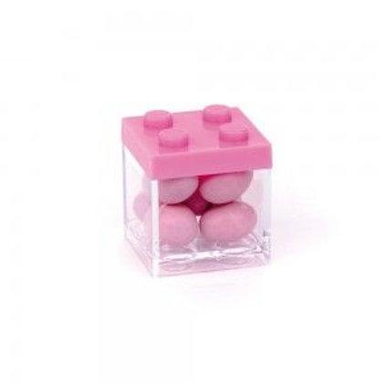 Portaconfetti mattoncini Rosa