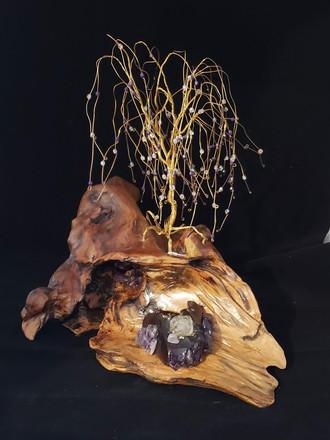 Brass on Driftwood