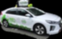 Green Cabs NZ Electric Taxi Hyundai Ioniq